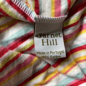 Set of 2 Garnet Hill jersey sheets twin XL